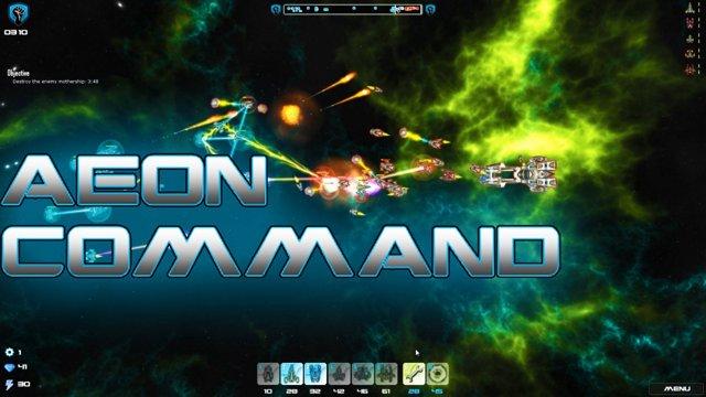 Aeon Command экспресс тест игр библиотеки стим от Shamanoidoz