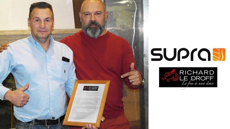 Лучший менеджер по продажам продукции Supra и Richard Le Droff в компании Домотехника