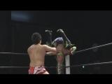 Toru Owashi, Nobuhiro Shimatani vs. Ryan Davidson, Facade (DDT Live! Maji Manji #14)