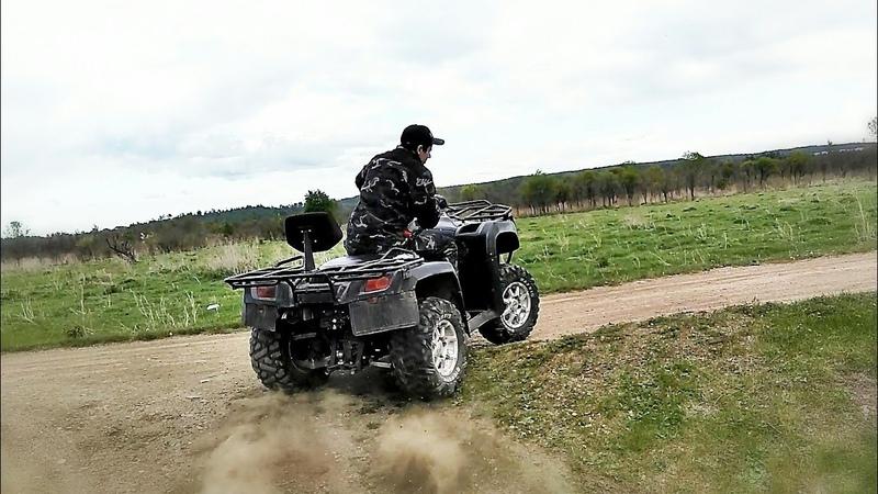 Stels 700D - проект DROVA – часть 34 – Снова тормоза, клепаем пластик, руль!
