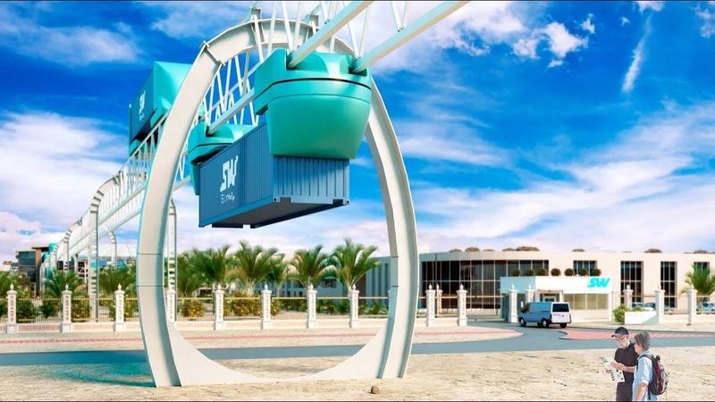 SkyWay Sky Pod на Саммите мирового правительства в Дубае