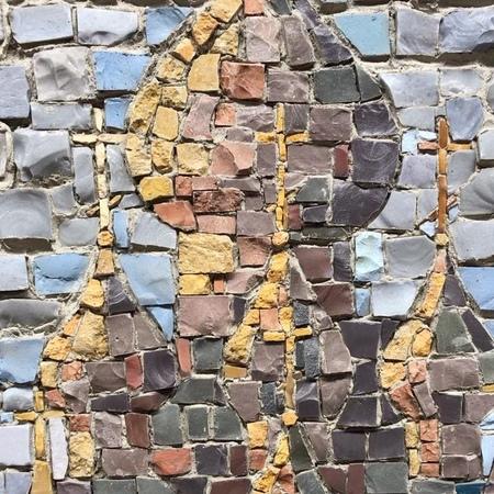 "Max Kosh on Instagram ""Оживляю цвета на Кижах или make Kizi colored again!) беломорская метробеломорская метро mosaics mosaicart кижи"""