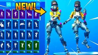 *NEW* REBEL Skin Showcase With Dance Emotes! Fortnite Battle Royale