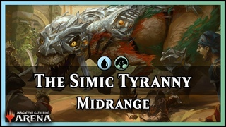 The Simic Tyranny | Guilds of Ravnica Standard Deck - Magic / Arena