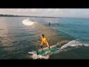 Утренний серфинг. Жена ловит волны🏄♂️👍