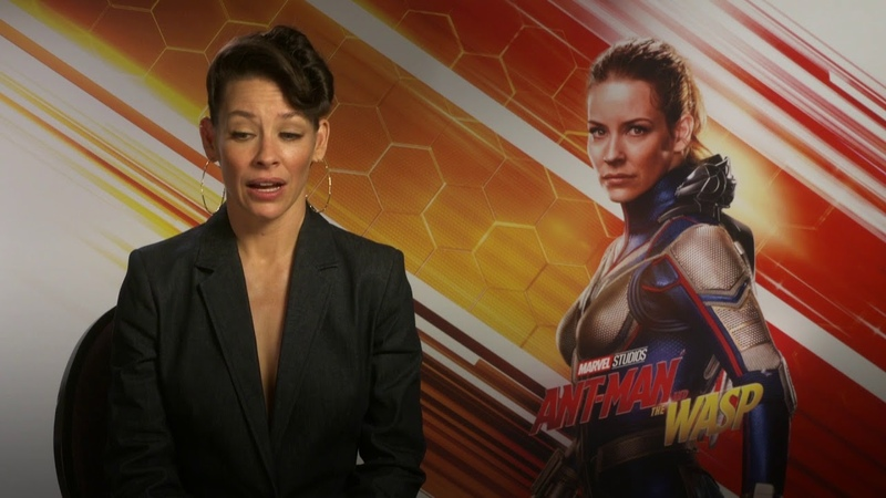Evangeline Lilly - Ant-Man And The Wasp Interview