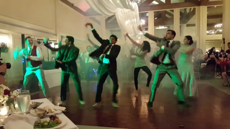 Rosie and Vitos Bhangra Wedding Dance