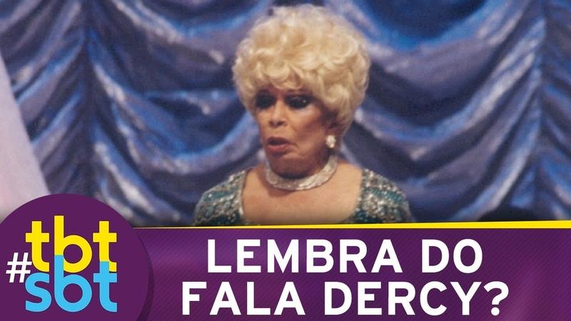 Fala Dercy, um bate-papo autêntico com Dercy Gonçalves no SBT | tbtSBT