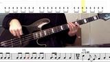 Queen - Bohemian Rhapsody Bass Line wtabs and standard notation
