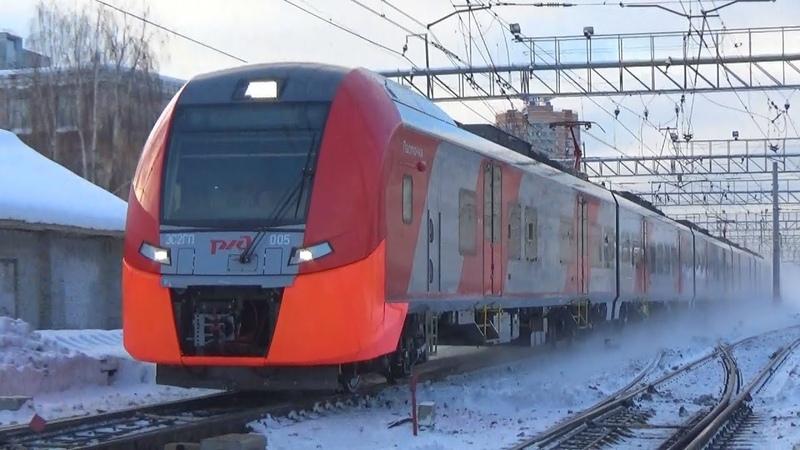 Электропоезд ЭС2ГП-005 Ласточка-Премиум №838 Москва - Иваново (дополнительный рейс)
