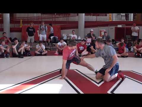 Getting the corner on a single leg - David Taylor
