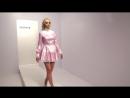 Romanie Smith Pink Melody Maid PVC Costume