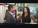 KISS rocker Paul Stanley brings art to Atlanta