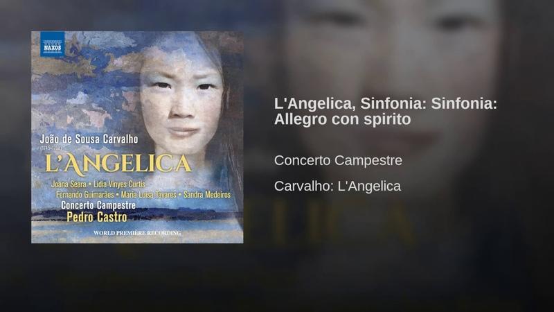 L'Angelica Sinfonia Sinfonia Allegro con spirito