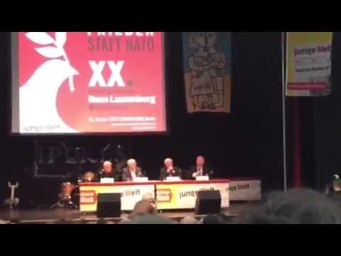 Willy Wimmer (CDU) - Krieg und Frieden - Rosa Luxemburg Konferenz 2015