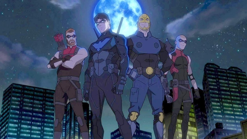 My Review of DC Universe YOUNG JUSTICE OUTSIDERS Episode 2, 3, 4, 5, 6