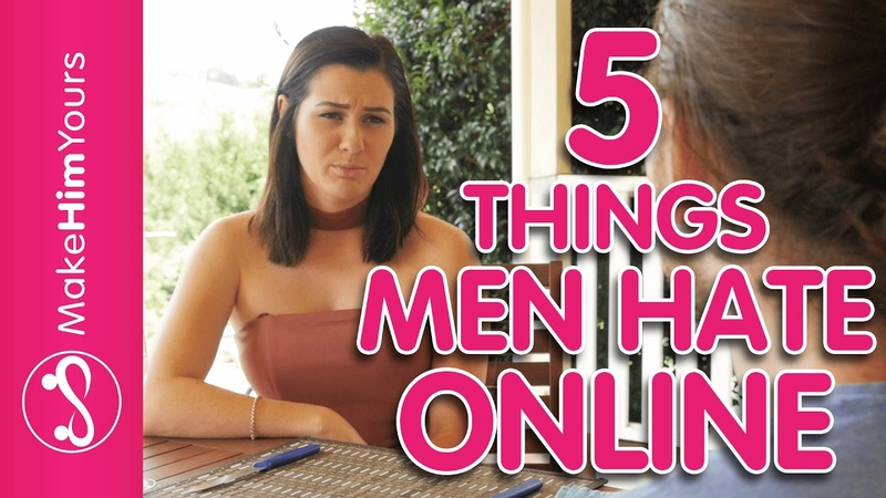 Womens Online Dating Profile Tips 5 Things That Men HATE Online