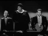 Bing Crosby, Dean Martin, Mahalia Jackson (1958)