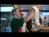 aaron carter now co-owns slice pizzeria - YouTube