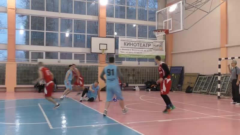 Волховские баскетболисты ко дню города стали чемпионами областных соревнований 15.12.18г.