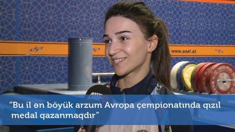 """Bu il ən böyük arzum Avropa çempionatında qızıl medal qazanmaqdır"""""""