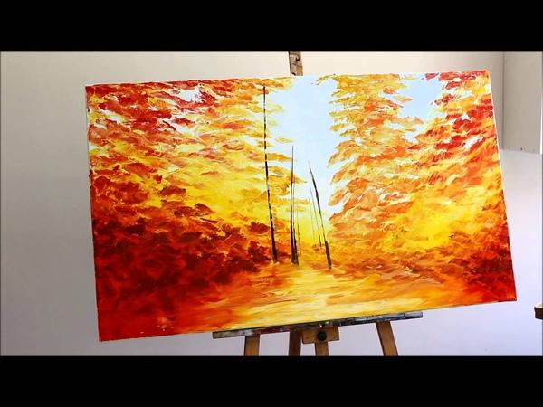 Eileen Lunecke - Pintando un bosque
