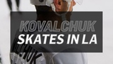 Ilya Kovalchuk's First Practice with the LA Kings
