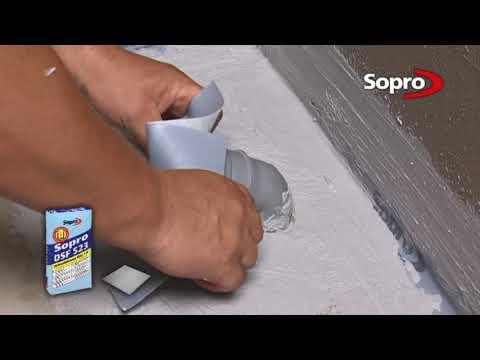 Облицовка ванной комнаты по технологии Sopro