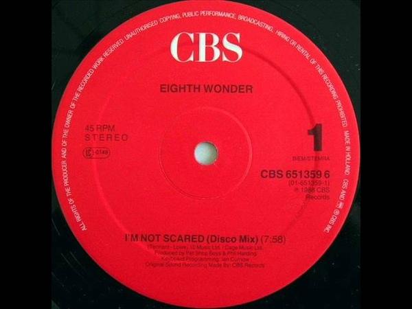 Eighth Wonder - I'm Not Scared (Disco Mix)