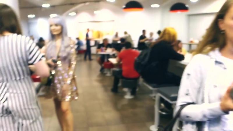 [Это Настя Герц] ЦЫПОЧКИ В KFC | ВЕЧЕРИНКА НИКС В ЦИРКЕ