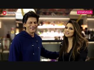 SRK is the first guest at Gauri Khan's recently designed restaurant Sanchos.