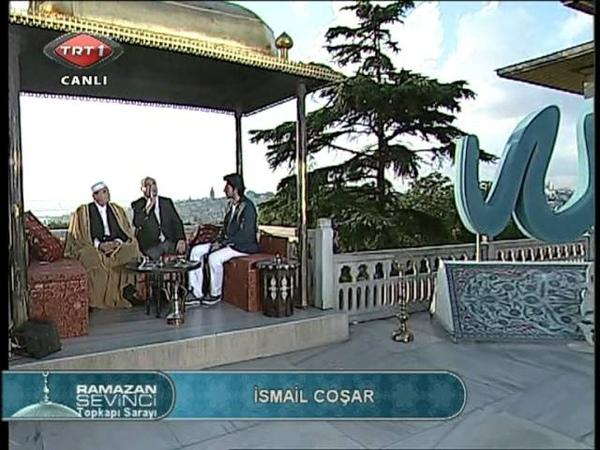 İSMAİL COŞAR KADİR GECESİ KASİDE RAMAZAN 2011 TRT 1