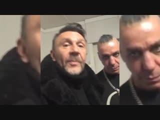 Сергей Шнуров и Till Lindemann