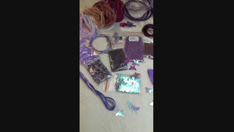 Видео анонс ЛОТ - Сиренево-лиловый РЕЛАКС 💜 Всего за 100 рублей этот набор может стать вашим!