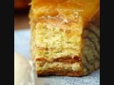 Гигантский яблочный пирог с корицей
