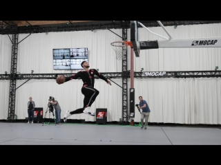 NBA 2K19: Ben Simmons in Motion Capture Studios (NBA 2K; 16-08-2018)