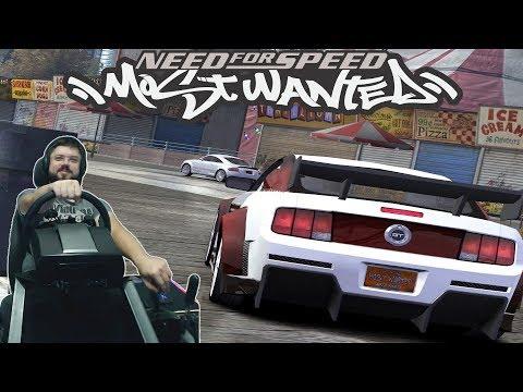 Гонка с шкурой на Мустанге и снова полыхающий истребитель Need for Speed Most Wanted
