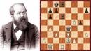 Шахматы Вильгельм Стейниц КОМБИНАЦИОННЫЙ УДАР решивший исход поединка