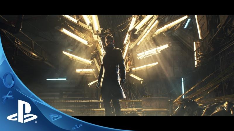 Deus Ex: Mankind Divided - Announcement Trailer   PS4
