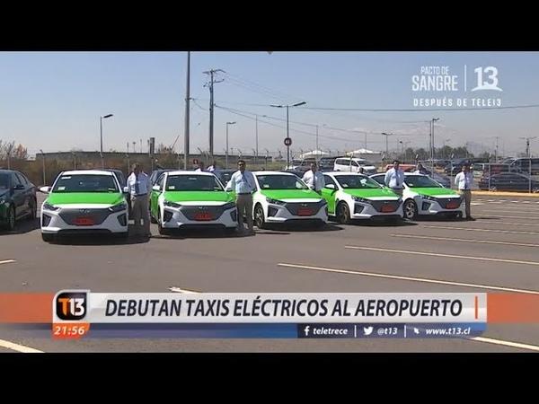 Debutan taxis y buses eléctricos