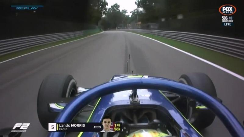 GP2 2018. Round 10. Italy. Race2