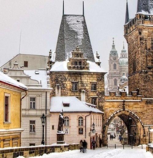Тур в Прагу на 11 ночей с завтраками за 23300 c человека