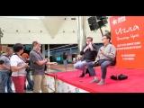 ✩ Пресс-конференция 2 Создатели фильма Игла Рашид Нугманов и Бахыт Килибаев