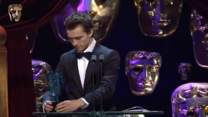 Награждение Тома Холланда