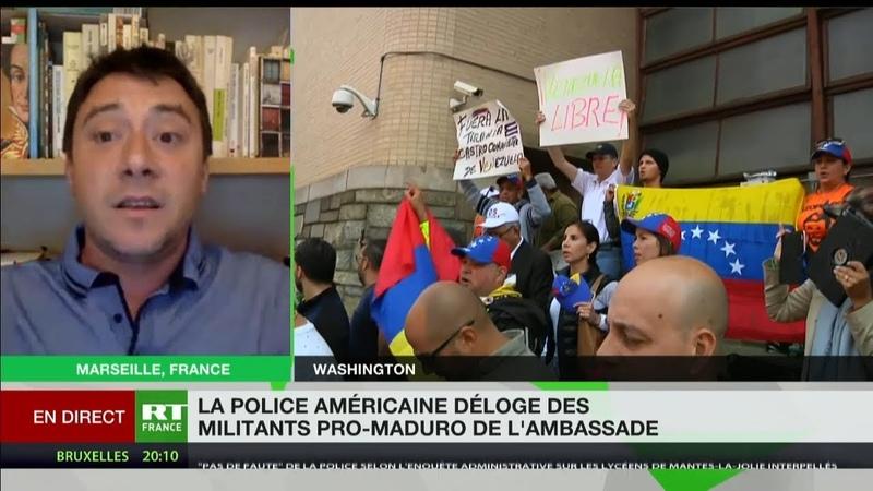 Tensions à l'ambassade du Venezuela : le prélude à des actions plus violentes à venir ?