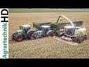 FENDT Traktoren GPS Häckseln mit Lohnunternehmen Jumpers Neuer CLAAS Jaguar 980