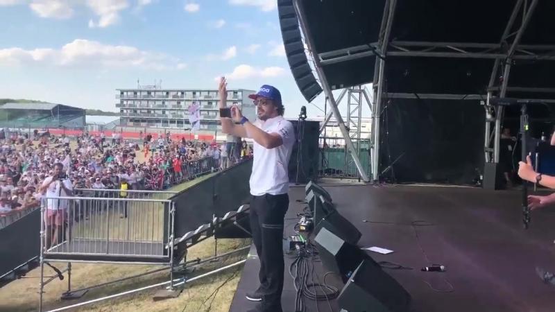 Фернандо Алонсо - суперзвезда!