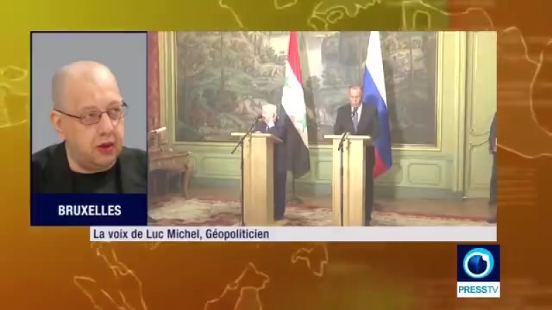 Luc Michel : Avec l'offensive sur Idlib, Poutine a poussé Erdogan à se dévoiler ! (2min27s)