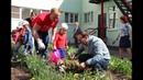 Посадка цветов в детских садах