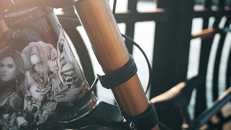 KONA Stinki BLACK exclusive desine overview Эксклюзивная Кона от Саши Грей